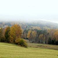 Utsikt från Aspbybacken oktober 2013 - foto av Ingela Staf Holmer