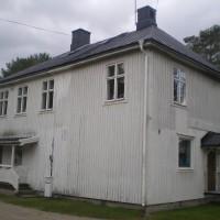 Fasad mot innergården